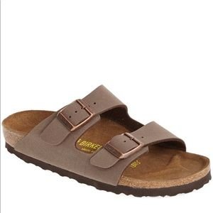 Birkenstock Arizona Birko-Flor Mocha Sandals